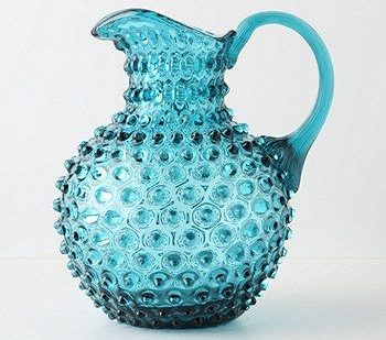 depression glass blue